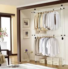 hanging clothes organizer with drawers home design ideas