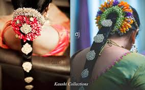 flower decoration for hair sparkling fashion south indian bridal hair accessories billalu