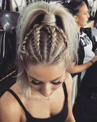 hairstyles for medium length hair with braids 20 gorgeous braided hairstyle ideas chic braids for women 2017