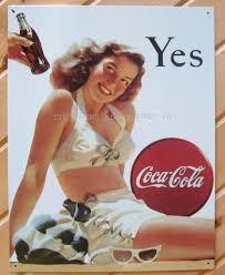 Coca Cola Home Decor Coca Cola Pin Up In White Bath Suite Vintage On Popscreen