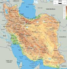 France Physical Map by Maps Of Iran Tehran City Map Railway Map Physical Map Ethnic Map
