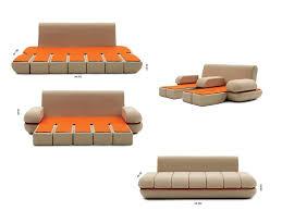 Modular Sleeper Sofa by Transformable Furniture Sofa Bed Lounge Chair Kinda Makes Me Want