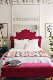 Pink Bed Frames Custom Beds Bed Frames Upholstered Headboards Anthropologie