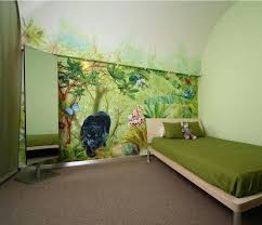 fresque chambre b deco chambre bebe jungle merveilleux decoration chambre bebe theme