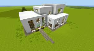 How To Make A House Floor Plan Minecraft Build Modern House 02 Misspandora Minecraft Project