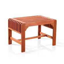 amazon com vifah v1398 backless single bench outdoor benches