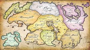 Elder Scrolls World Map by Skyrim The Khajiits Part 1 Elsweyr Youtube