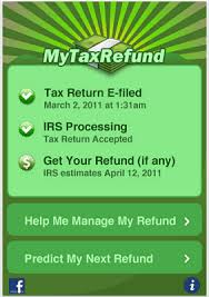 Estimate State Tax Refund by Free Income Tax Apps For Iphone And Ios