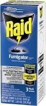 Bed Bug Fogger Raid Fumigator Fumigating Fogger Products Raid Brand Sc