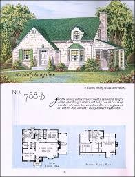 Bungalo Floor Plan 127 Best Plans Images On Pinterest Vintage Houses House Floor