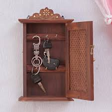 key holder wall exclusive handcrafted wooden key holder wall cabinet almirah