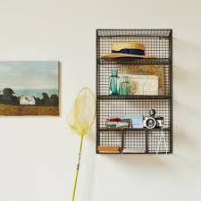 Wall Mount Wire Shelving by Vintage Wire Shelving Units Shelving Ideas