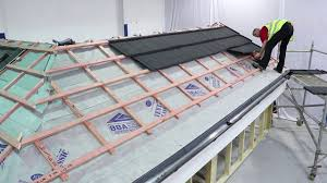 Lightweight Roof Tiles How To Tile A Roof With Lightweight Metal Roof Tiles Slate 2000