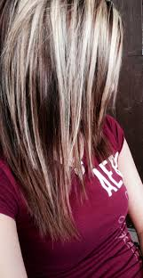 platinum blonde and dark brown highlights incredible light brown hair with platinum blonde highlightslike the