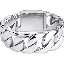 titanium steel bracelet images 316l stainless steel punk huge heavy men 39 s biker bracelets jpg