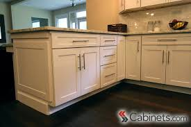 purchase kitchen cabinets sleek brushed nickel bar pulls are the perfect complement to our