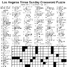 usa today crossword answers july 22 2015 product fe7 los angeles times sundaycrossword puzzle joyce nichols lewis and rich norris png