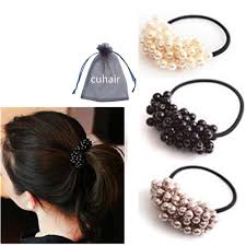 hair holders polytree 3pcs women s fashion chain hair clip