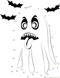 halloween connect the dots worksheets worksheets