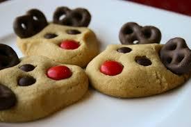 bakergirl peanut butter reindeer cookies