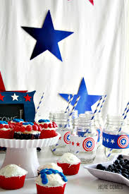 captain america party sun