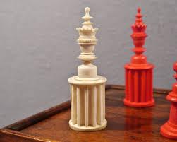 unusual nuremberg chess set 19th century luke honey