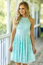 mint lace bridesmaid dresses 2017 country beach weddings with