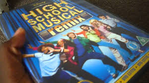 high school high dvd high school musical remix uk dvd unboxing