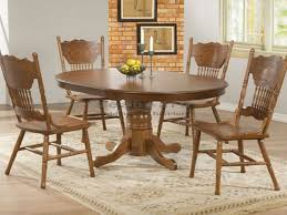 oak table and chairs travertine cream marble round dining tables for 4 eva furniture
