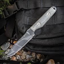 obsidian kitchen knives dawson knives custom outback fixed 3 375 80crv2 obsidian cerakote