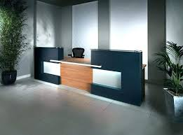 Reception Desks Modern Modern Hotel Reception Desk Design Charming Fancy Custom Made