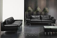 Contempo Leather Sofa by Olimpo Italian Modern Leather Sofa By Contempo Sitting