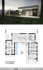 architects house plans modern 240 m2 house designed by ng architects modern architecture