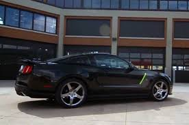 Black Roush Mustang Video Roush Shows Off The Stage 3 Mustang Hyper Series In More