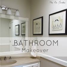 the pin junkie laundry room makeover reveal bathroom makeover reveal
