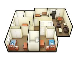 Floor Plan Dimensions Housing Services Beaujolais Village Furnishings U0026 Dimensions
