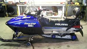 lot 1138a 2000 polaris 550 trail touring snowmobile youtube