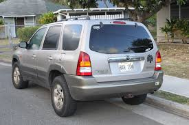 mazda tribute information and photos momentcar
