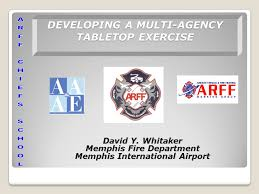 Table Top Exercise by Developing A Multi Agency Tabletop Exercise Ppt Download