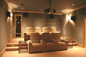 How To Decorate Home Theater Room Home Theater Room Lighting Ideas Homes Design Small