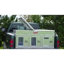 Truck Bed Dog Kennel Owens Hunter Aluminum Triple Dog Box U2013 Pet Pro Supply Co
