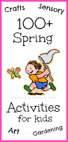 100 spring activities and crafts for kids outdoor play sensory