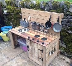 childrens wooden kitchen furniture best 25 outdoor play kitchen ideas on mud kitchen for