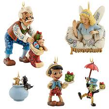 these look so playful on my tree pinocchio ornament set by jim shore