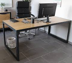bureau industriel pas cher table basse style industriel pas cher awesome bureau industriel pas