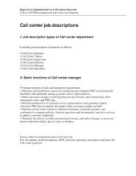 resume sle for customer service specialist job summary exle templates call center specialist sle job description resume