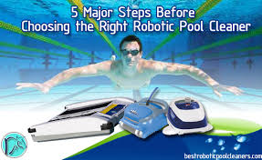 home of the best robotic pool cleaners