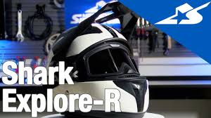 shark motocross helmets shark explore r helmet review motorcycle superstore youtube
