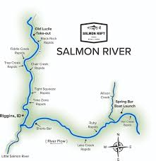 Launch Maps Salmon River Id Maps Salmon Raft Salmon River Rafting Company