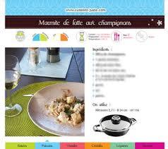 fiche recette cuisine fiche recette poisson marmite de lotte aux chignons cuisine saine
